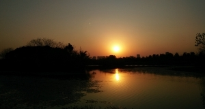 """带""""五妹""""去艾溪湖追太阳,X5Max实拍样张"""