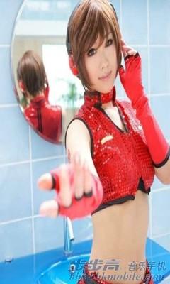 最终幻想7 女神蒂法神似cos 手机壁纸 步步高vivo智能手机