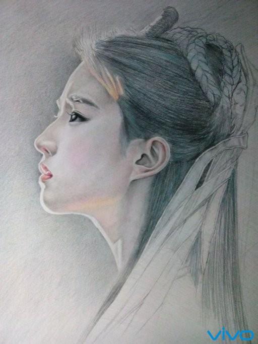 爱上刘亦菲!