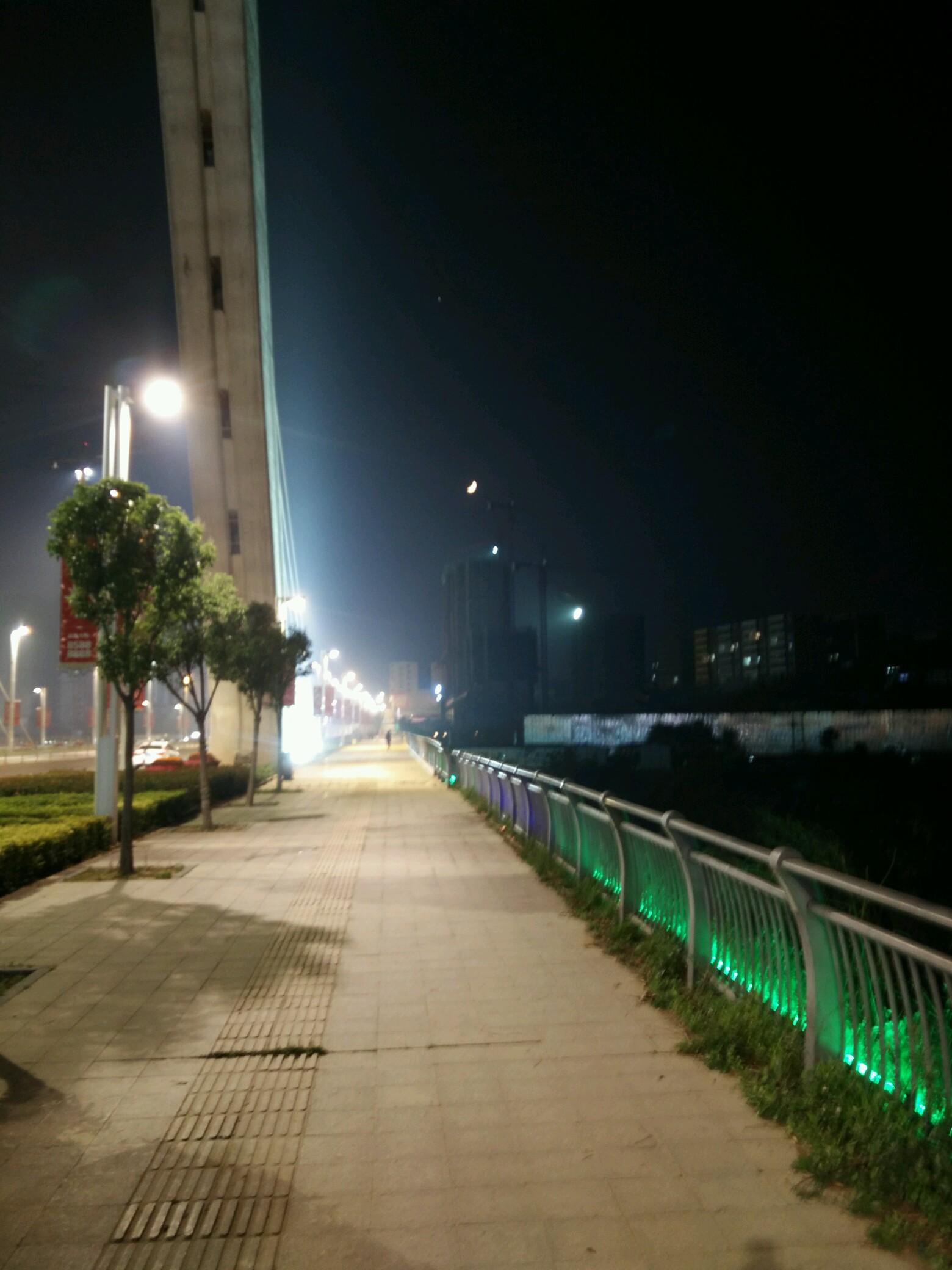 晚上风景-xshot系列-vivo智能手机v粉社区