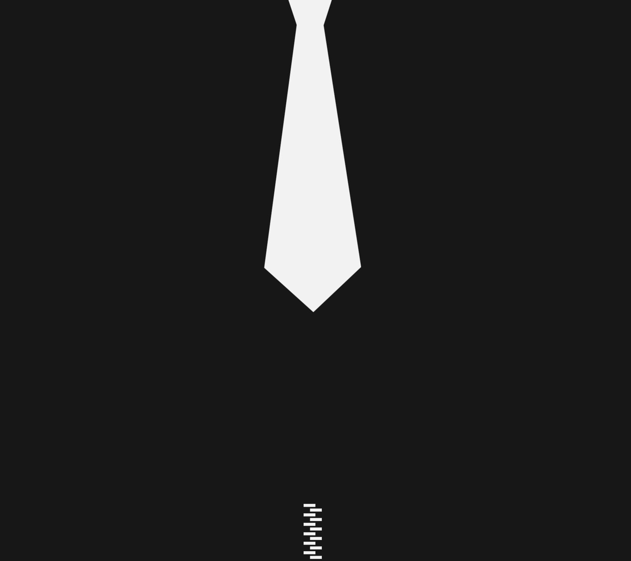 领带小人矢量图